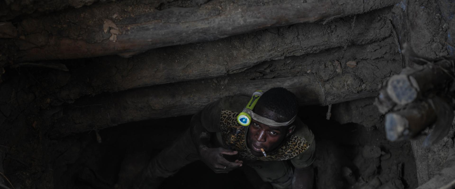 Hope Springs from Sacrifice in West Africa's Gold Mines