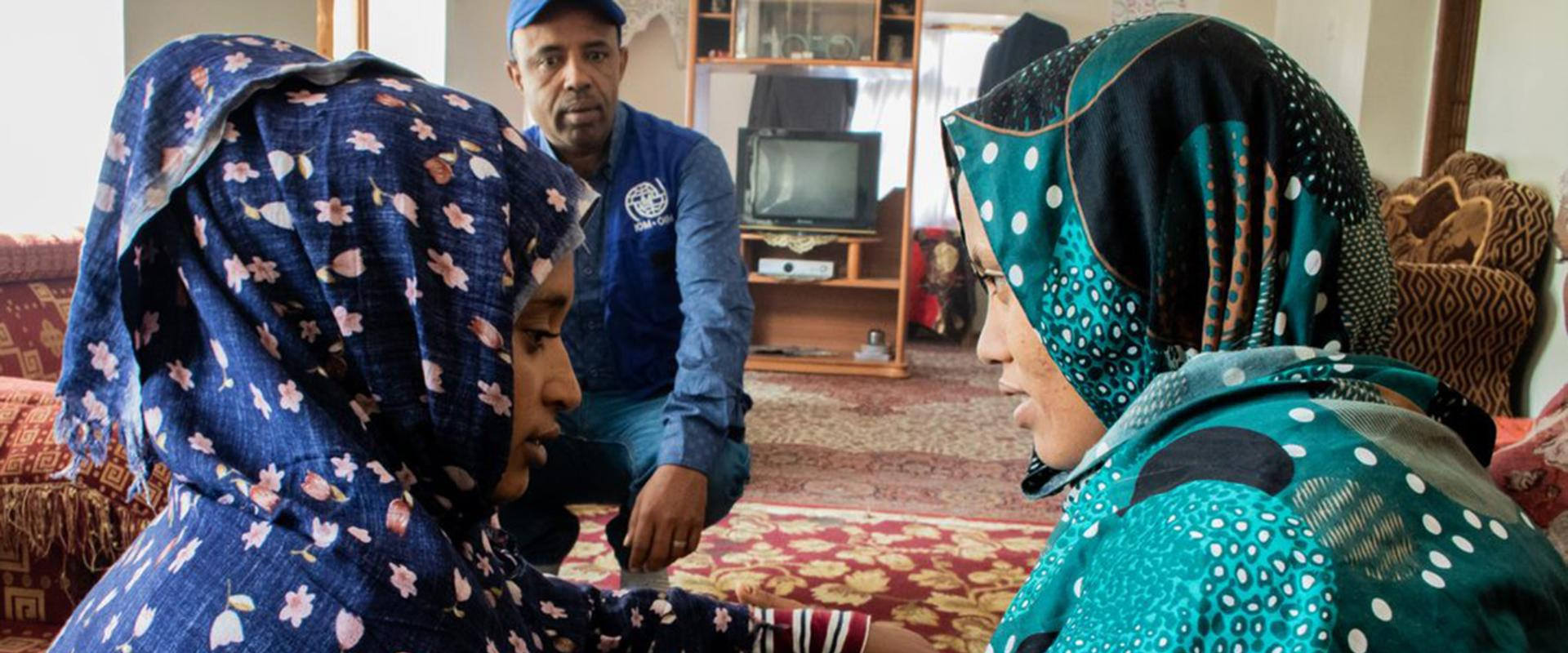 Safety in a Conflict Zone: Migrant Women in Yemen Find Shelter with IOM's Foster Families